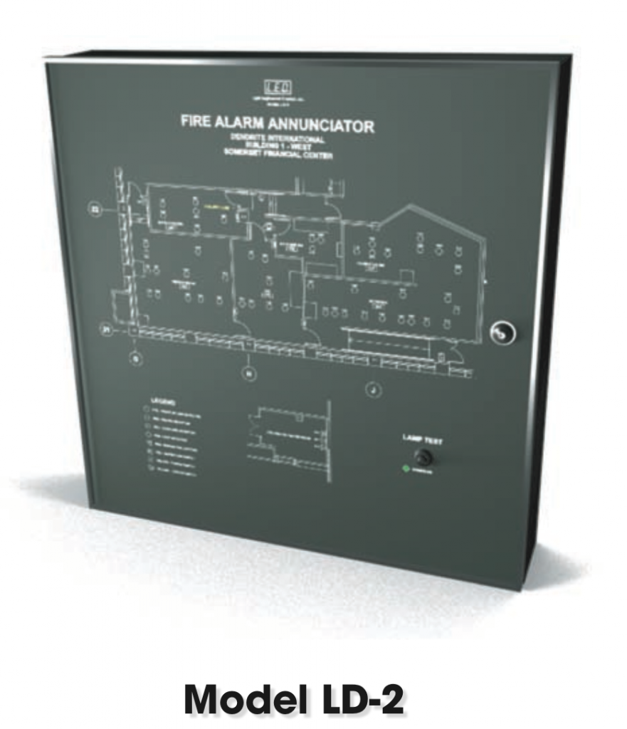 LED Inc. | Visual Notification Signs | Smoke Control Systems | Leak ...